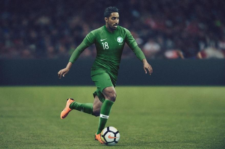 c17a3a7b13 Arábia Saudita lança novas camisas 1 e 2 para a Copa do Mundo ...
