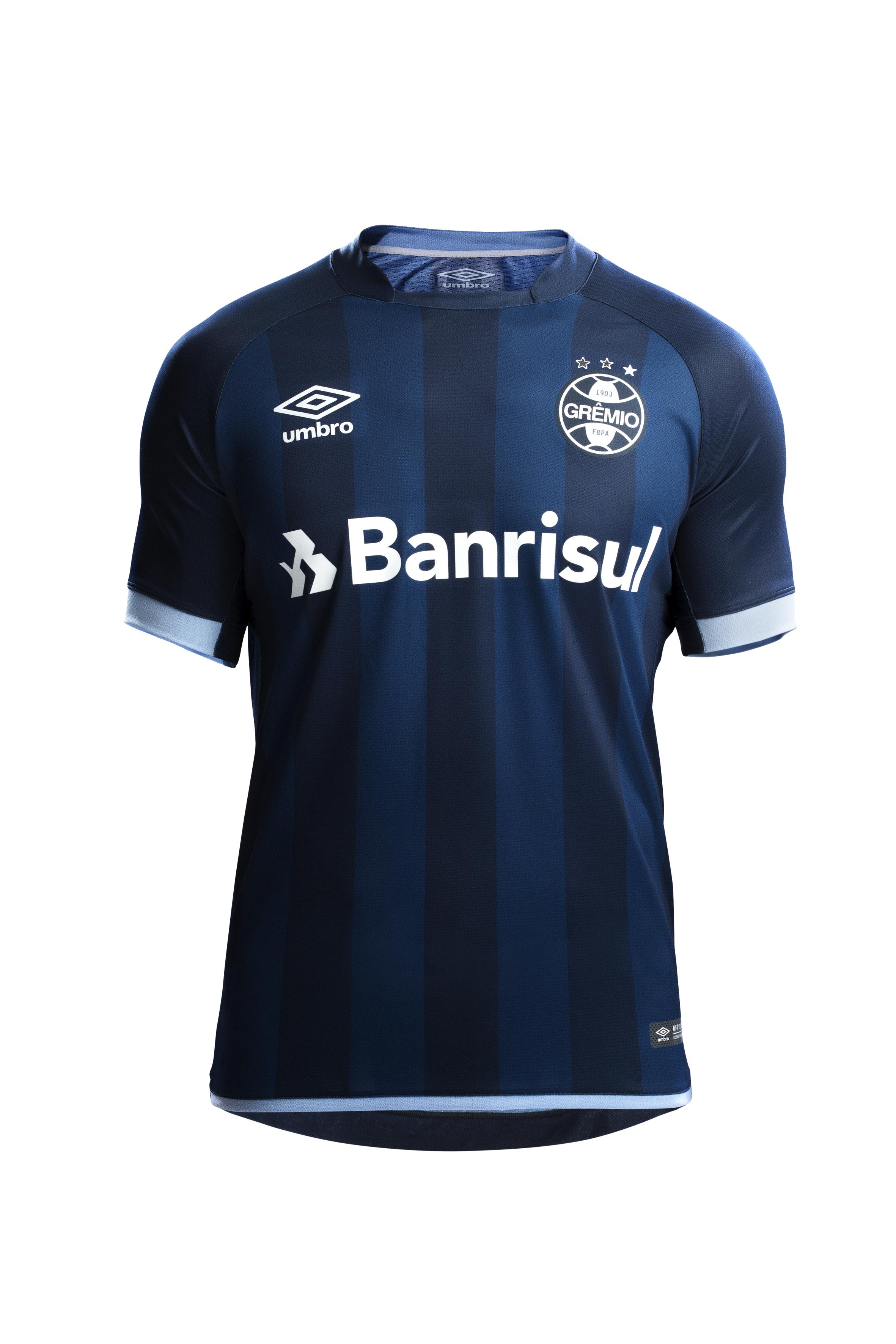 Grêmio apresenta nova camisa 3 55896a92886e8