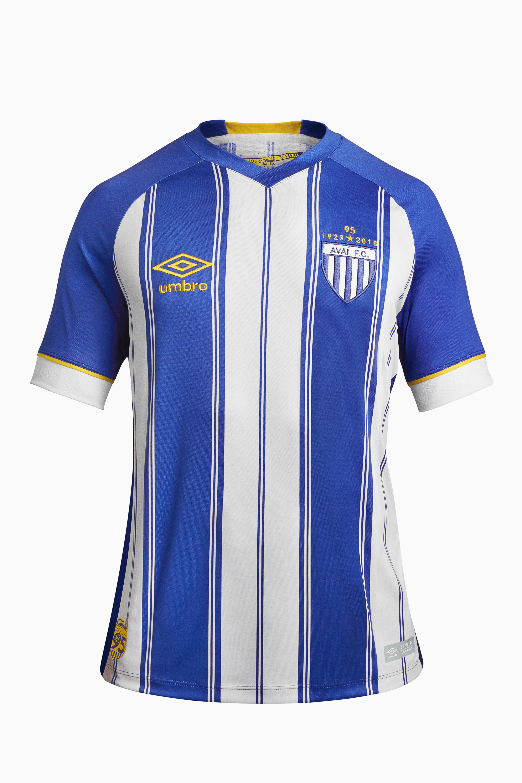 Nova camisa 1 do Avaí resgata tom original de azul e homenageia 95 anos do  clube 70e81ccde43c4
