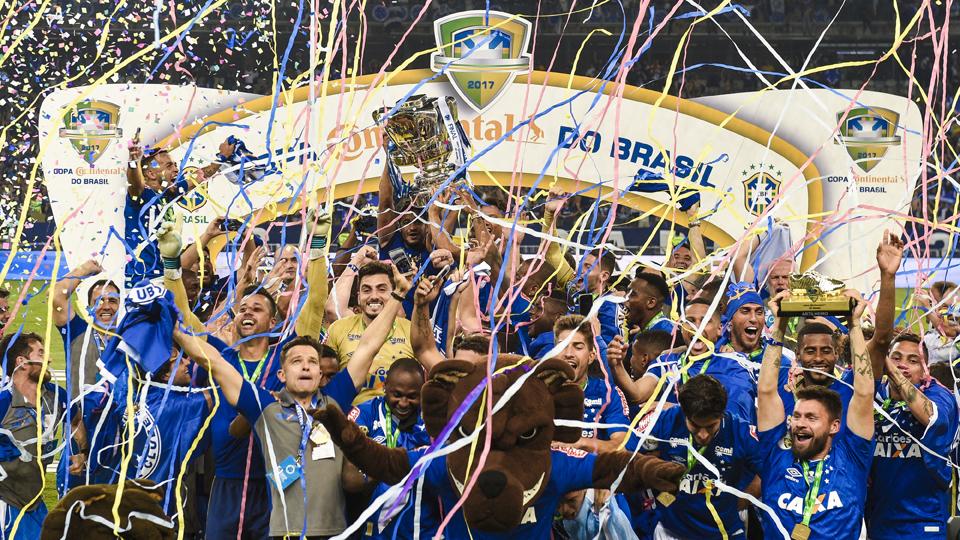 Cruzeiro (Brasil) - fase de grupos - campeão da Copa do Brasil