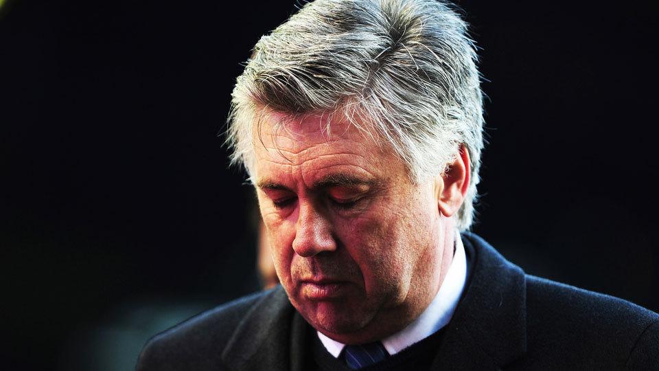 Carlo Ancelotti: sem clube desde que foi demitido do Bayern, em setembro. Ganhava R$ 39 milhões/ano