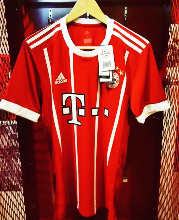 1a3ed31929 Bayern Nova Camisa 1 Adidas 16 05 2017