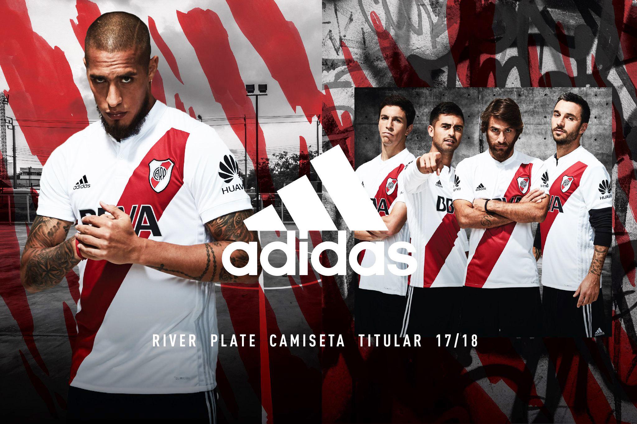 River Plate apresenta sua nova camisa 1 b3a6da16bfbef