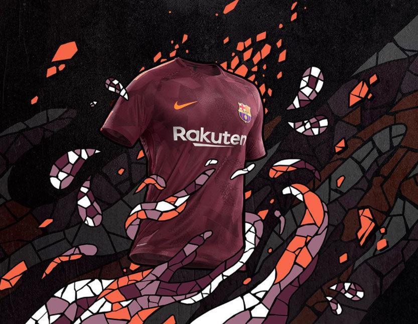 Barcelona apresenta nova camisa 3 b38f9e7726de8