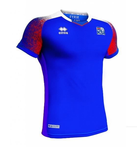Islândia apresenta novas camisas 1 e 2 para a Copa do Mundo  578f32b41959b