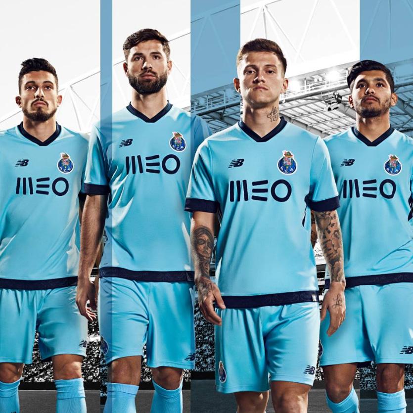 98e829e350 Porto lançou sua nova camisa 3 nesta segunda-feira