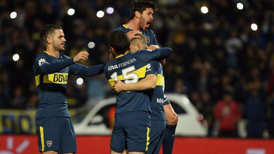 Boca Juniors (Argentina) - fase de grupos - campeão argentino