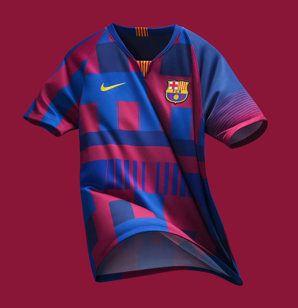 a5ff739822 Barcelona oficializa a  camisa mais polêmica de todos os tempos ...