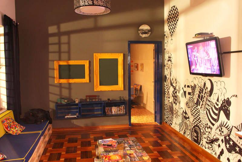 Imagem do hostel utilizado pela KaBuM eSports em São Paulo
