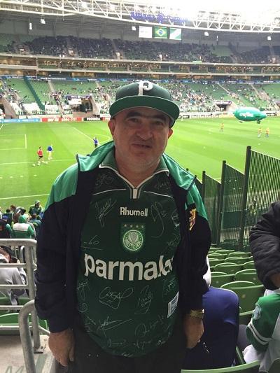 de91fa079c5a4 Ivaldo no reencontro com o Palmeiras na partida com a Ponte