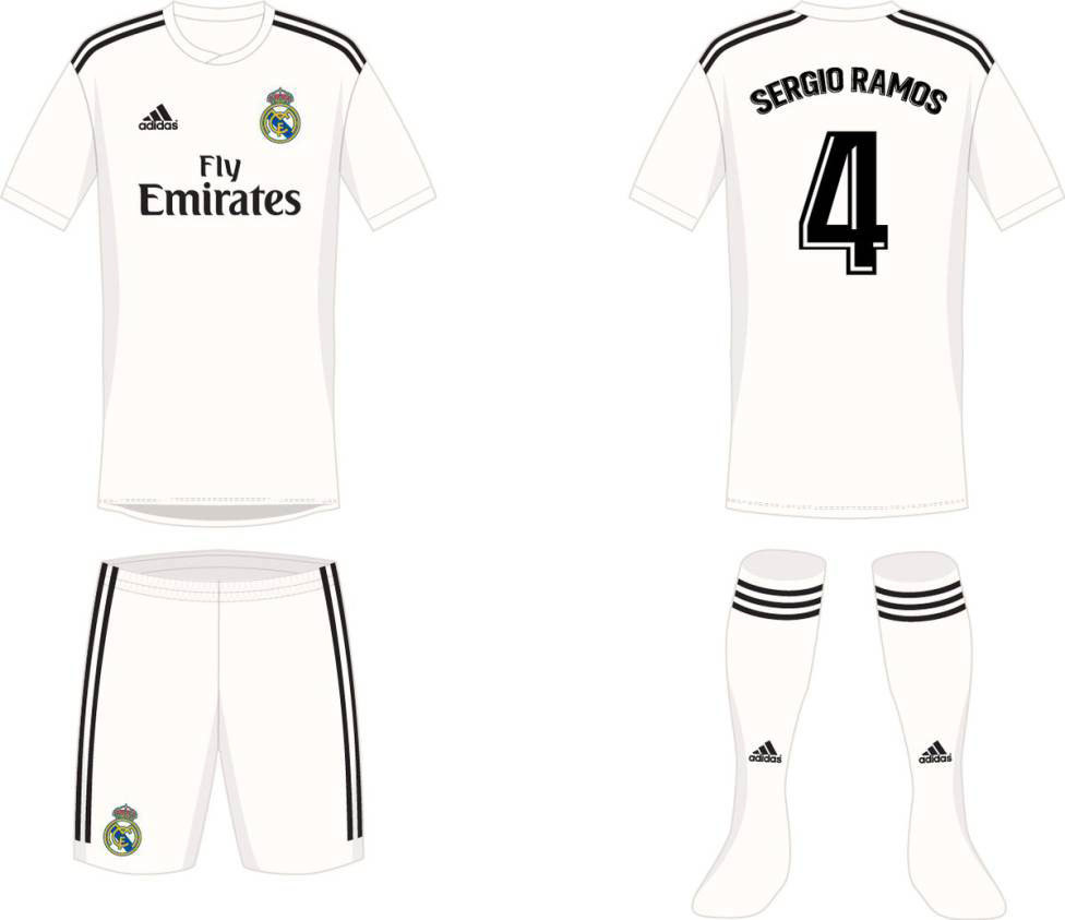 Provável camisa 1 do Real Madrid para a próxima temporada
