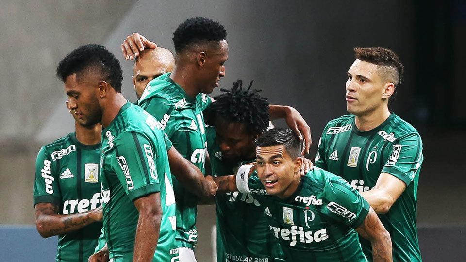 Palmeiras (Brasil) - fase de grupos - vice-campeão brasileiro