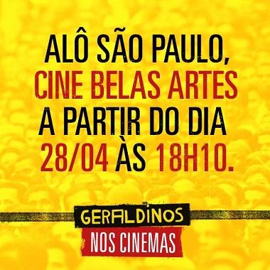 Documentário em cartaz em São Paulo