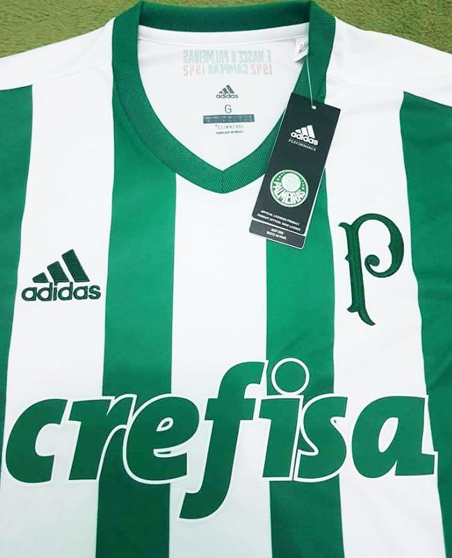 98bccec557 Nova camisa 2 do Palmeiras tem listras estilo Atlético Nacional ...