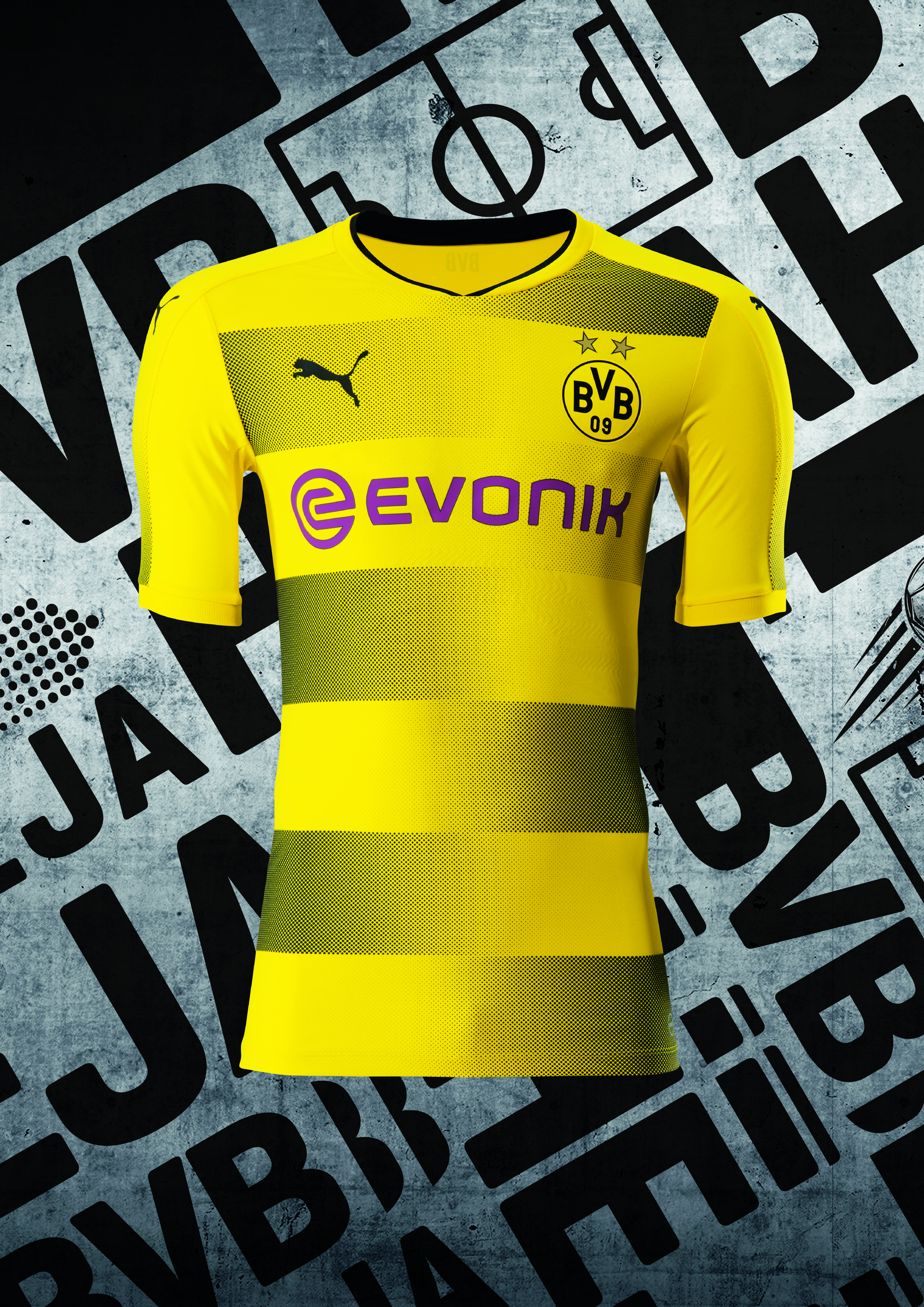 Borussia Dortmund apresenta nova camisa 1 para a próxima temporada ... e58e51f74e197