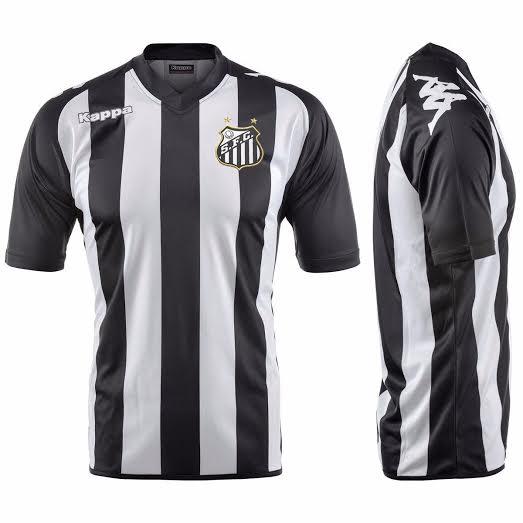 Santos e Kappa já discutem até modelo de camisa para 2016 - ESPN dce90699f1c91