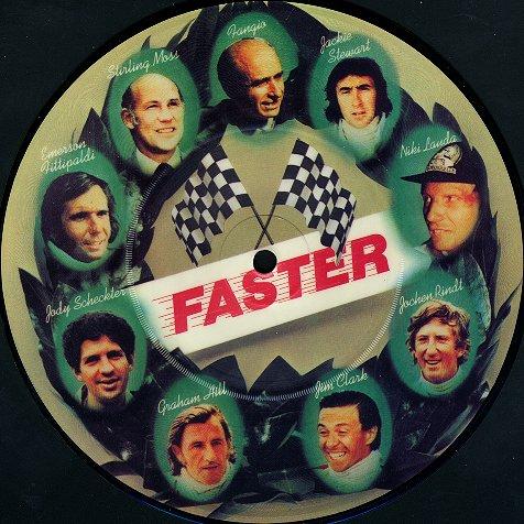 Single Faster, de George Harrison, lançado em 1979