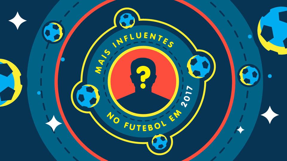 Quem são os 50 mais influentes do futebol