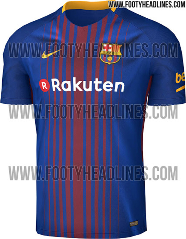 8eb9c387de ESPN Um site vazou a nova camisa do Barcelona para 2017 18