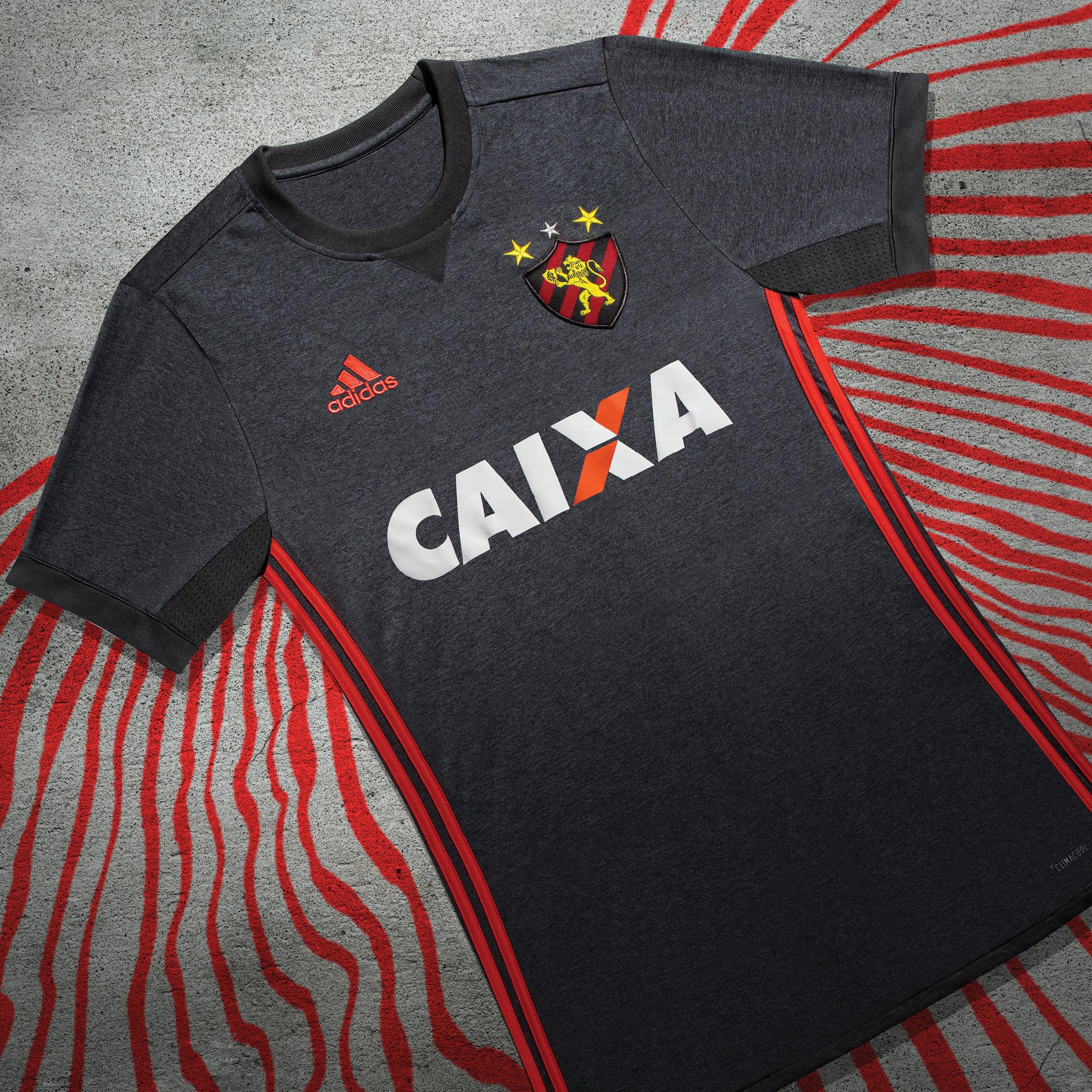 7f9eac6845 Sport inova e apresenta camisa 2 cinza para a temporada