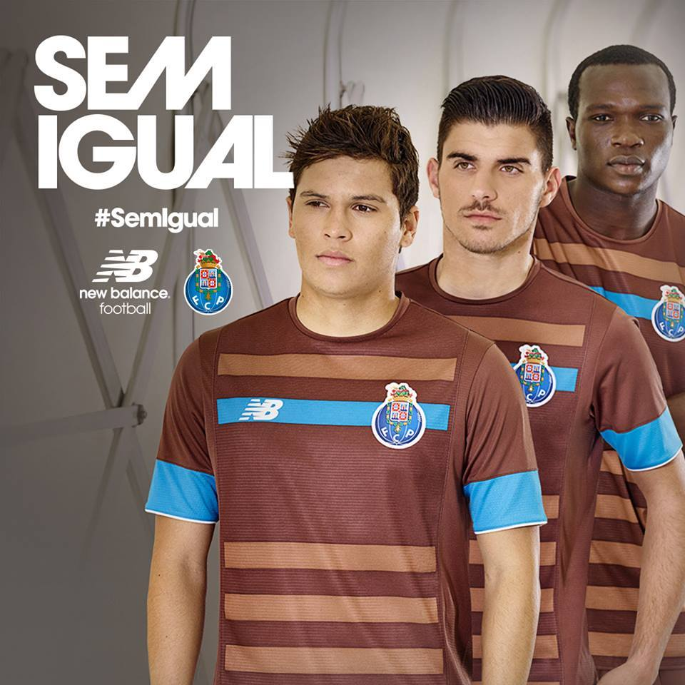 220cff95b6 Porto lança camisa marrom e é ironizado por rivais na web   Cor de m ...