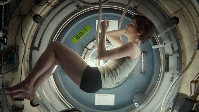 Sandra Bullock em Gravidade: US$ 70 milhões com participação na bilheteria