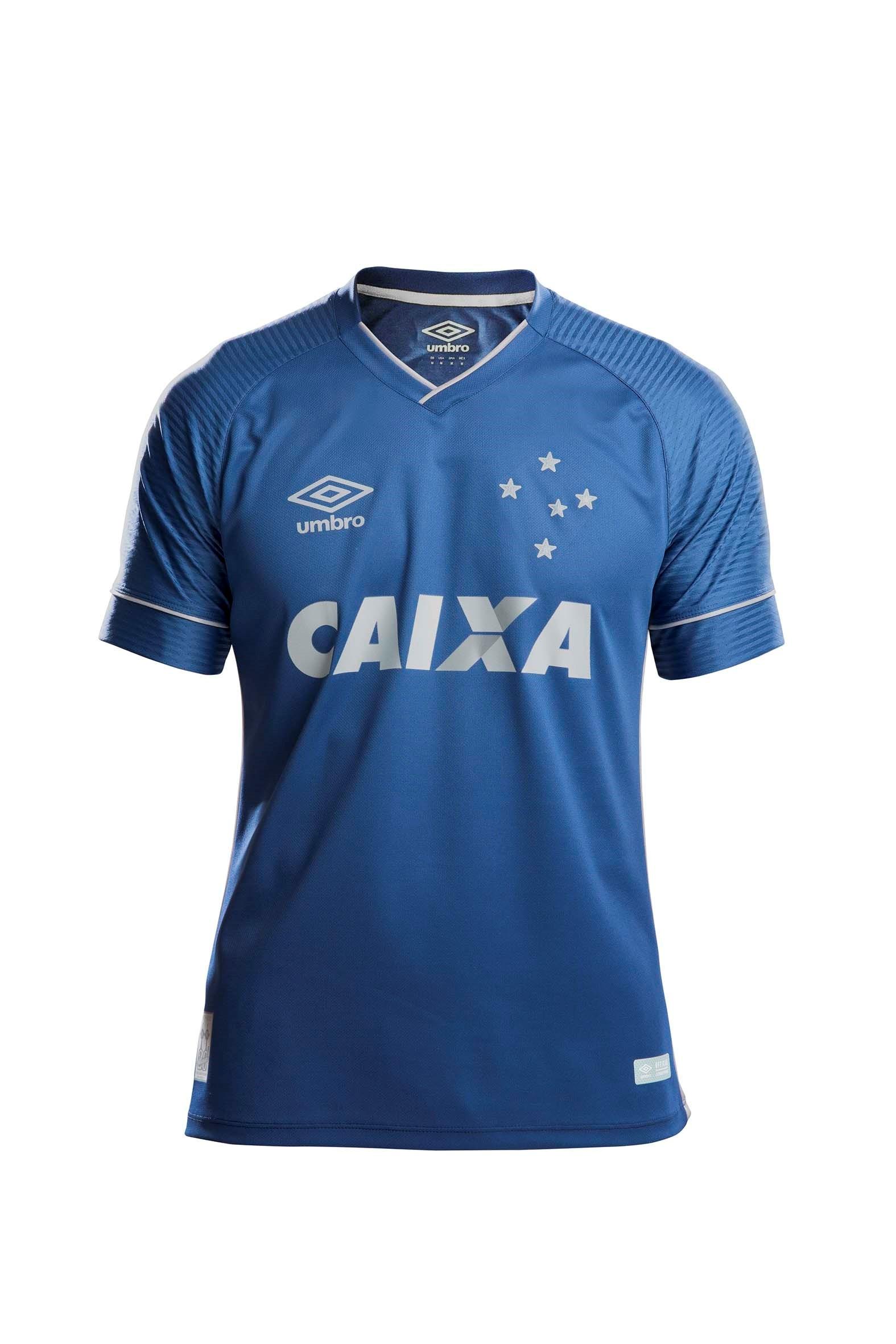 b4e4d24d17 Cruzeiro homenageia 20 anos do bi da Libertadores em nova camisa 3 ...