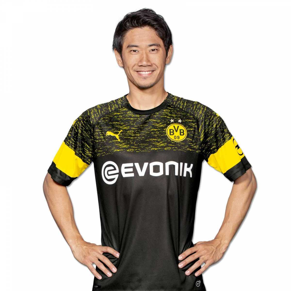 72e1f9d392 Borussia Dortmund lança sua nova camisa 2 para a temporada