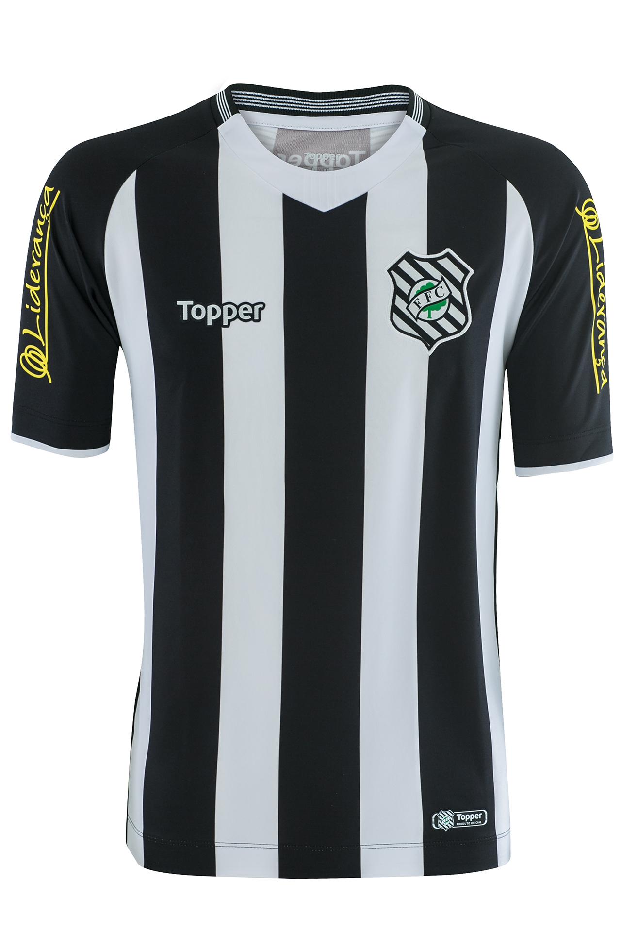 d542282421ce0 Figueirense muda fornecedora e apresenta novas camisas 1 e 2