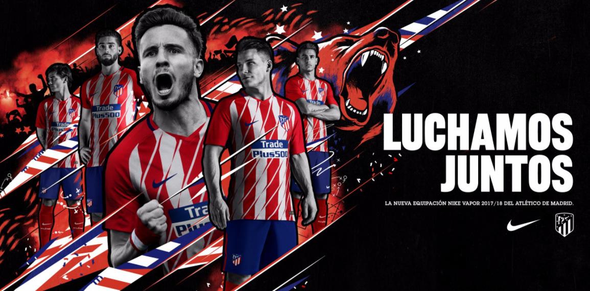 b901873eeb Atlético de Madri oficializa camisa 1 polêmica e também lança ...