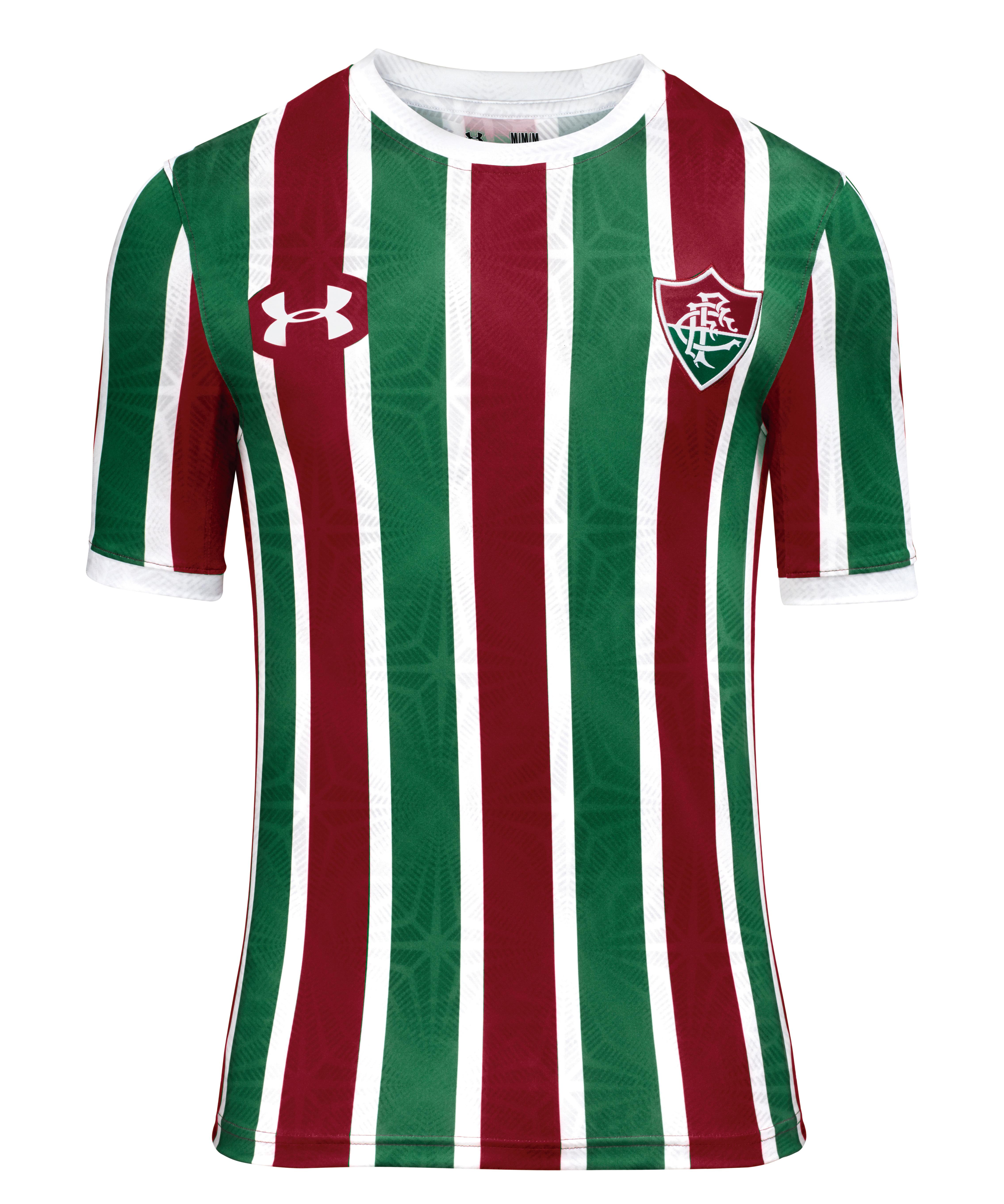 a9722a98458d7 Os uniformes 1 e 2 já estão à venda no site do Fluminense por R  249