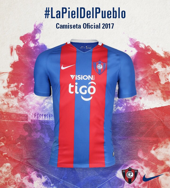 Cerro Porteño volta às origens em nova camisa para 2017  d108f6e9ac6a2