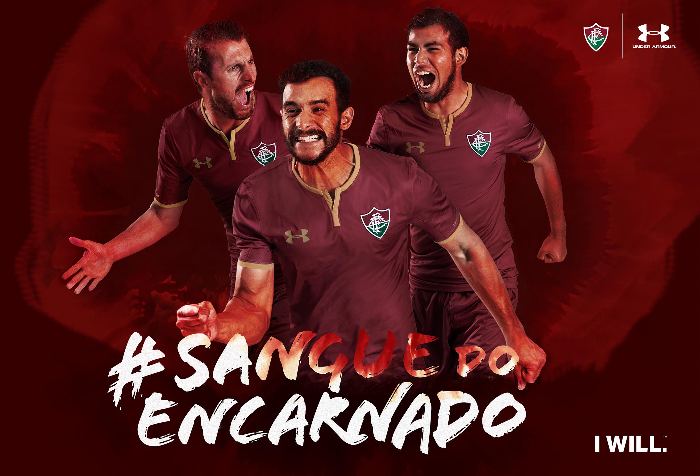 f369c269656d4 Fluminense e Under Armour apresentaram nova camisa 3 nesta terça