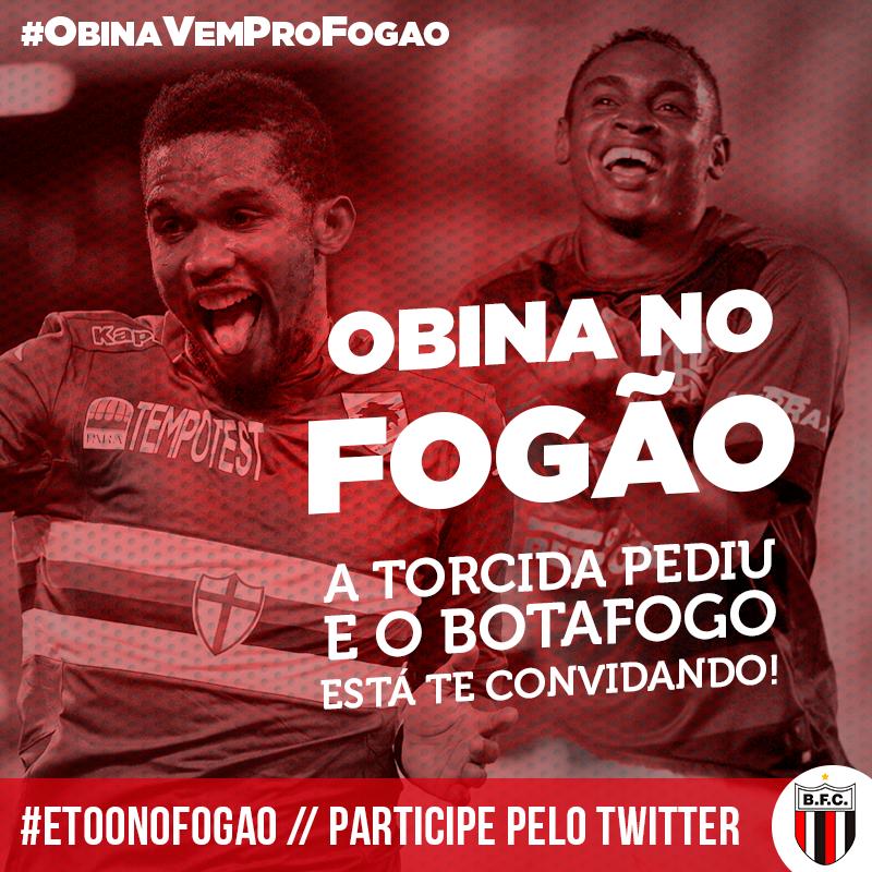0cb7d41505 Quem é melhor  Botafogo-SP convida Obina para fazer dupla com Eto o ...