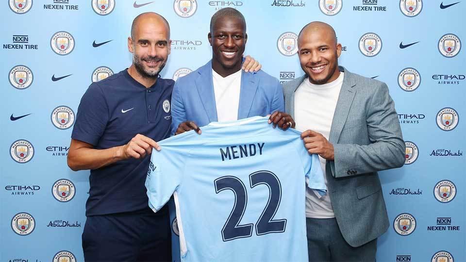 5º - Mendy (57,5 milhões de euros, R$ 214,15 milhões): será o camisa 22 do Manchester City