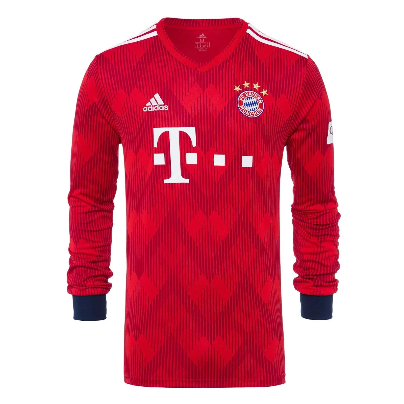 Bayern de Munique apresenta nova camisa 1 e novo uniforme de goleiro ... 72e0fb4cacaed