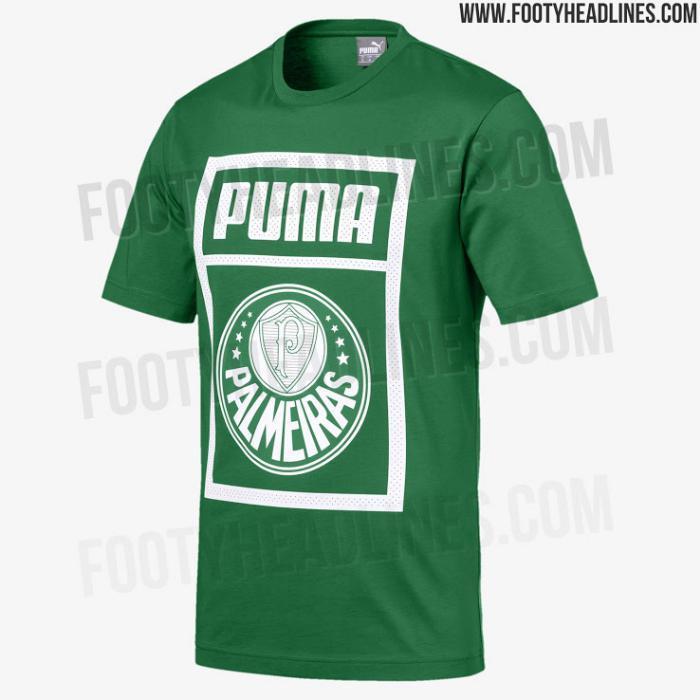 Palmeiras  Primeira coleção da Puma vaza na web  8d6a601c597fe