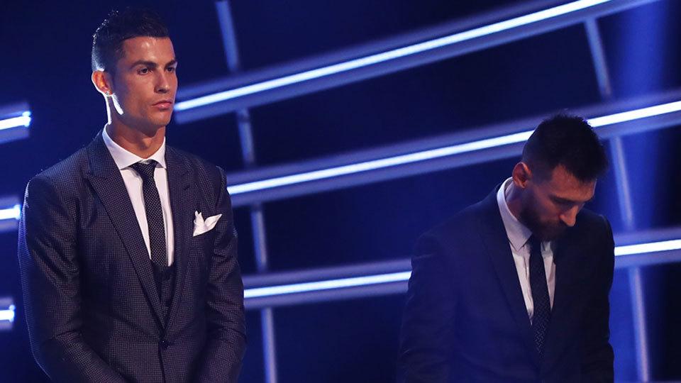 Messi e Ronaldo puxam fila de corporativistas
