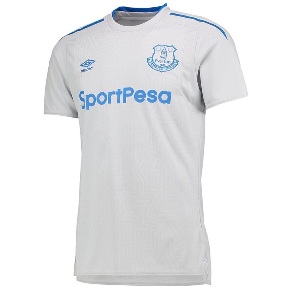 A nova camisa do Everton 954491d6649c0
