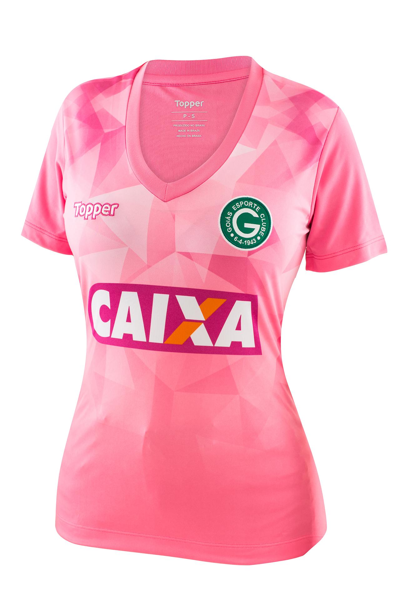 52520f1ac0 Fornecedora lança camisas alusivas ao Outubro Rosa para 11 clubes ...