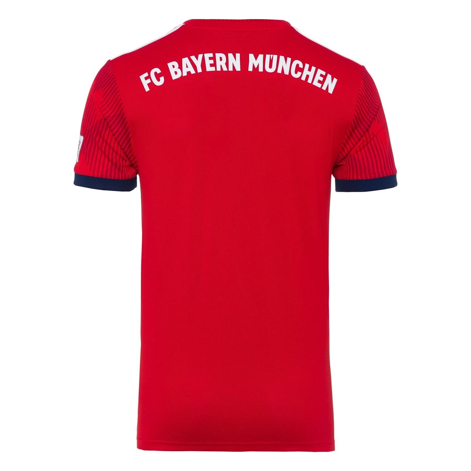 e4f106134c Bayern de Munique apresenta nova camisa 1 e novo uniforme de goleiro ...