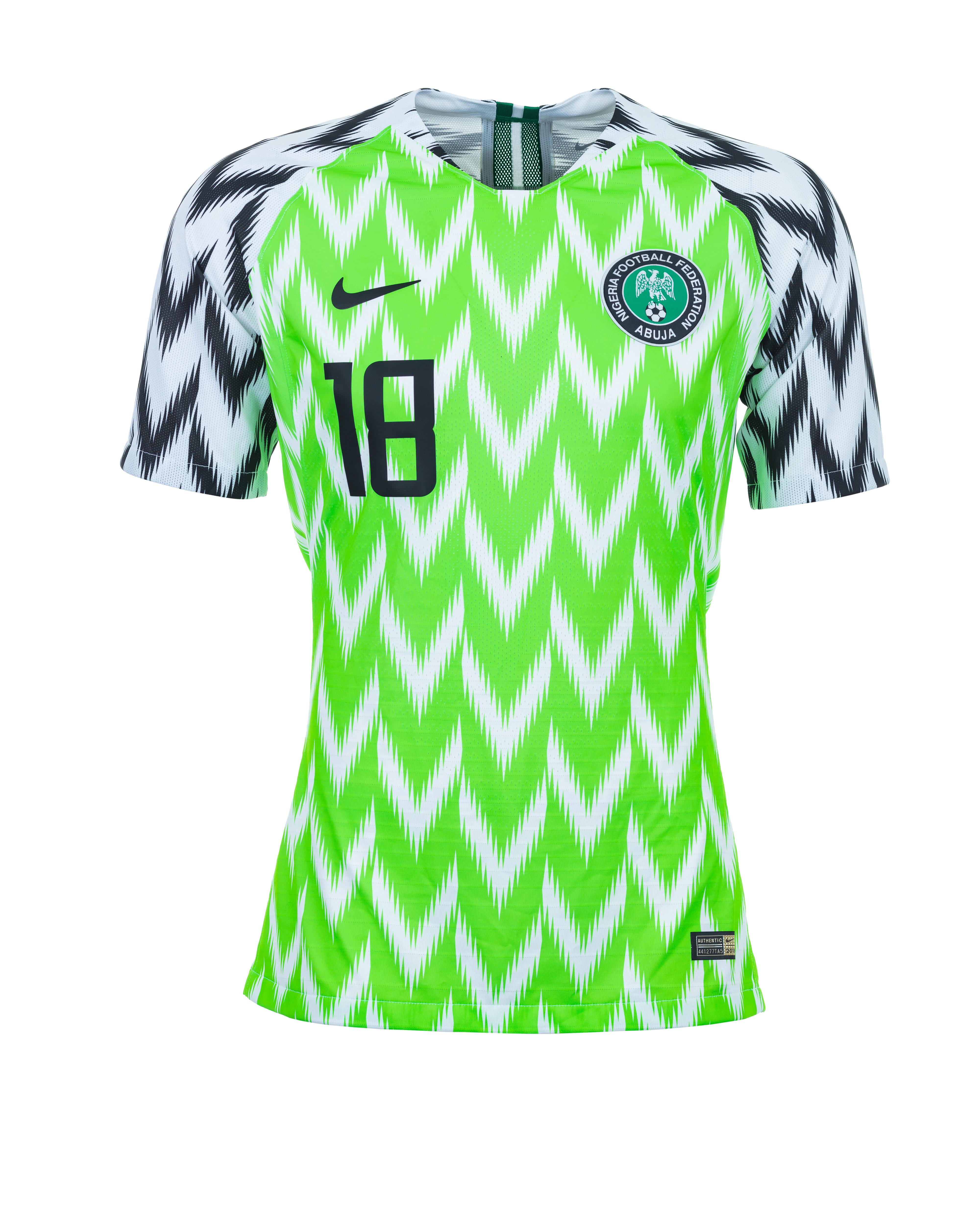 Fornecedora recebe 3 milhões de pedidos pela nova camisa da Nigéria ... 980a0382667de