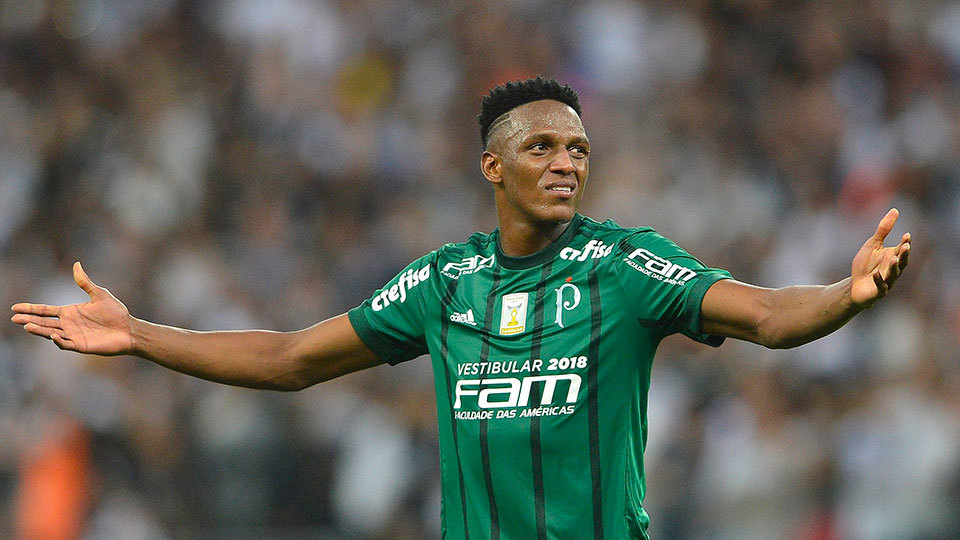 Yerry Mina sairá do Palmeiras antes do previsto e Barcelona pagará mais