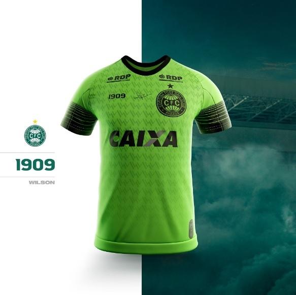 ec71b17206 Coritiba passa a fabricar os próprios uniformes e lança novas ...