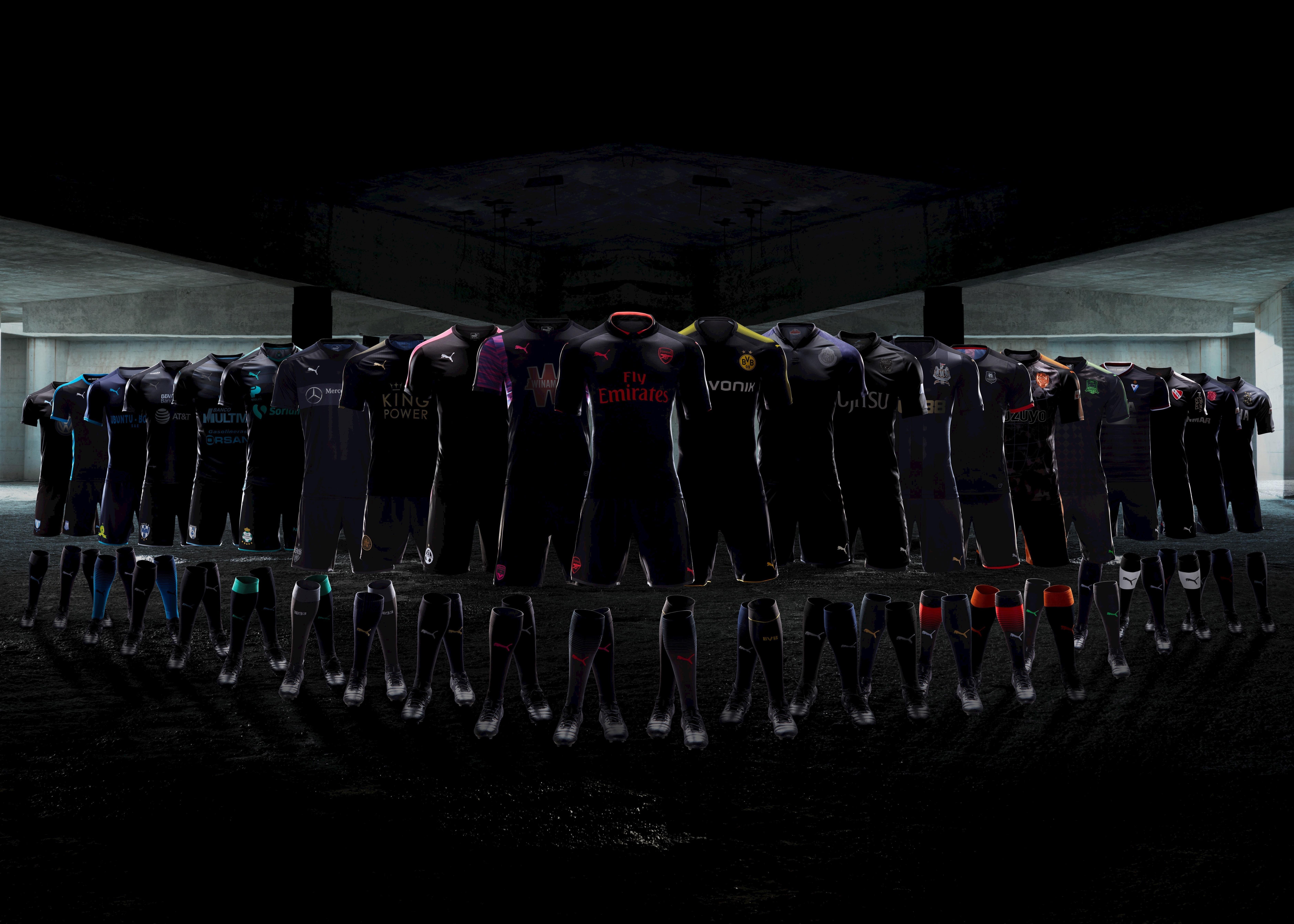 42b8fe2eb0 Puma lança 23 novas camisas de times de uma vez  veja todas