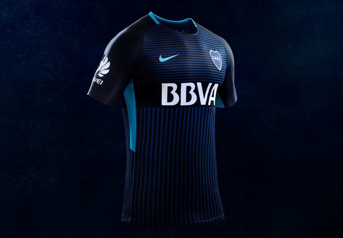 8be12a6cd5 Boca Juniors capricha em nova camisa 3