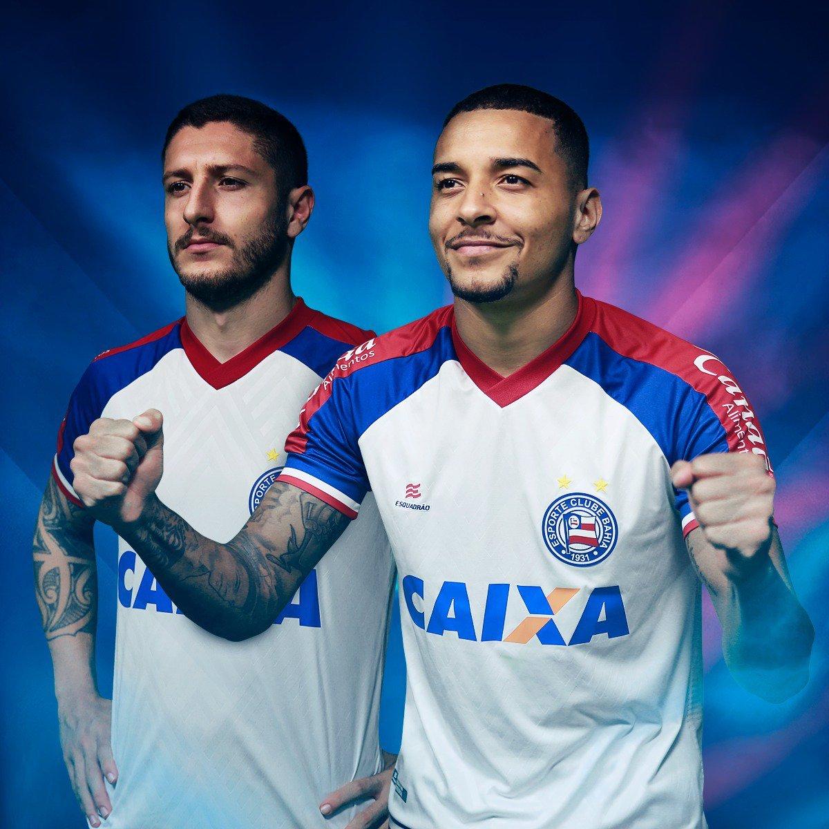 36cdbb959d Bahia é 1º time da Série A do Brasileiro a ter marca própria de ...