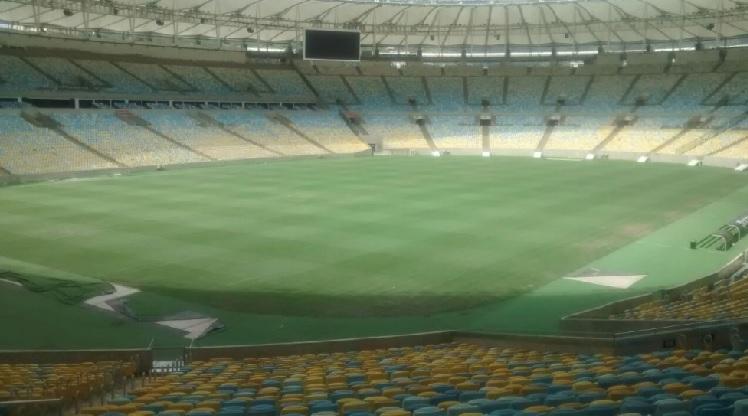 O gramado do Maracanã em 21 de março de 2017: mais 15 dias para ficar 100% adequado ao futebol