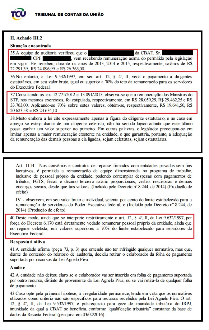 Salário de cartola do atletismo foi comparado ao de ministros do STF