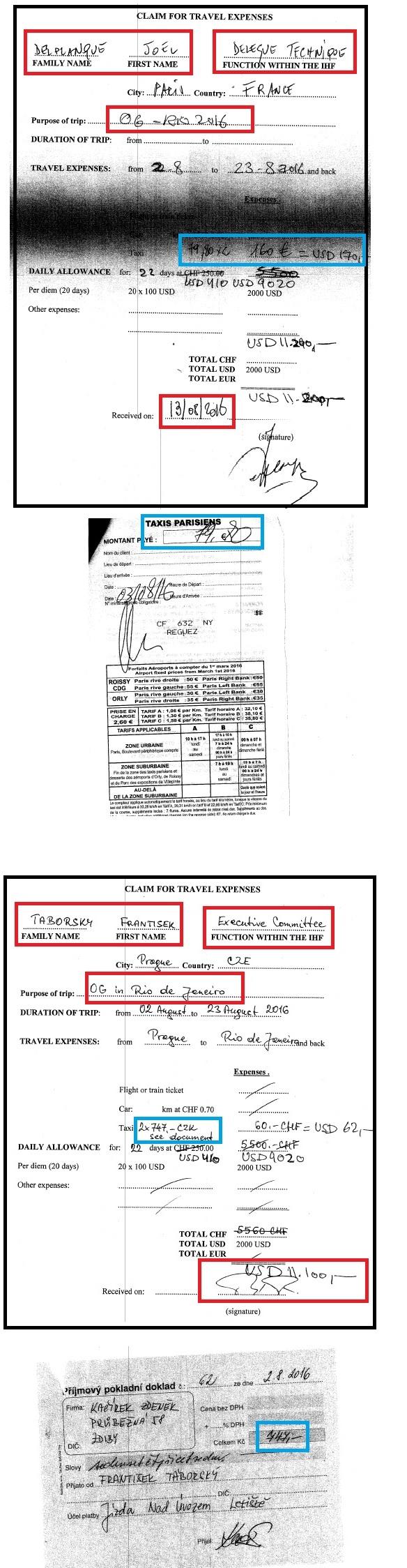Cartolas da IHF cobraram da CBHb por táxis na República Tcheca e em Paris